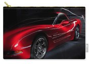 1997 Red Corvette Carry-all Pouch