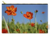 Red Cosmos Flower Carry-all Pouch