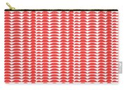 Red Cut Outs- Abstract Pattern Art Carry-all Pouch