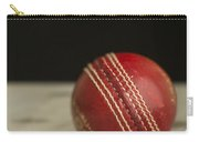 Red Cricket Ball Carry-all Pouch