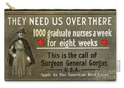 Red Cross Poster, C1914 Carry-all Pouch