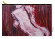Red Curtains - Nudes Gallery Carry-all Pouch