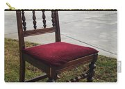 Red Cushion Chair Carry-all Pouch