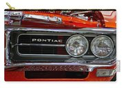 Red Customized Retro Pontiac-front Left Carry-all Pouch