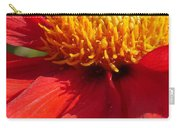 Red Dahlia Coccinea Carry-all Pouch