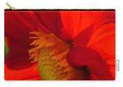 Red Dahlia Elegance Carry-all Pouch