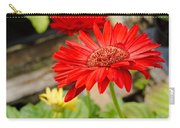 Red Daisy Carry-all Pouch