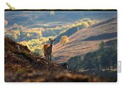 Red Deer Calf Carry-all Pouch