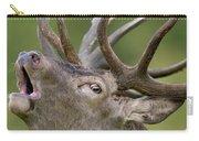 Red Deer Cervus Elaphus Stag Bugling Carry-all Pouch