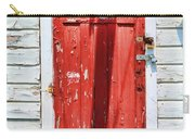 Red Door By Diana Sainz Carry-all Pouch by Diana Sainz