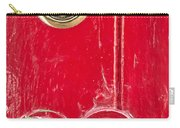 Red Door Lock Carry-all Pouch by Tom Gowanlock
