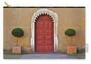 Red Door Of Caldas De Rainha Carry-all Pouch