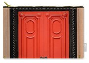Red Door On New York City Brownstone Carry-all Pouch