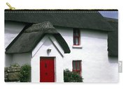 Red Door Thatched Roof Carry-all Pouch