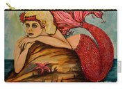 Red Dust Mermaid Carry-all Pouch