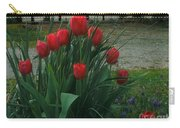 Red Dynasty Red Tulips Carry-all Pouch