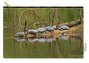 Red Eared Slider Turtles 2 Carry-all Pouch