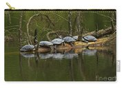 Red-eared Slider Turtles Carry-all Pouch