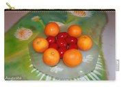 Red Eggs And Oranges Carry-all Pouch