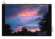 Red Evening Arizona Sky Carry-all Pouch