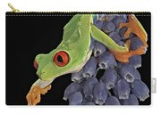Red Eye  Carry-all Pouch by Susan Candelario