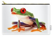 Red-eye Tree Frog 1 Carry-all Pouch
