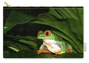 Red Eyed Green Tree Frog Carry-all Pouch