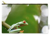 Red Eyed Tree Frog, Agalychnis Carry-all Pouch