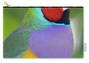 Red Faced Gouldian Finch Carry-all Pouch