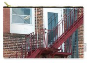 Red Fire Escape Usa II Carry-all Pouch