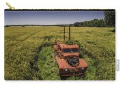 Red Firetruck In The Field Carry-all Pouch