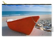 Red Fishing Boat Algarve Portugal Carry-all Pouch