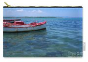 Red Fishing Boat Carry-all Pouch