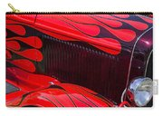 Red Flames Hot Rod Carry-all Pouch by Garry Gay