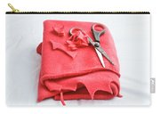 Red Fleece Carry-all Pouch