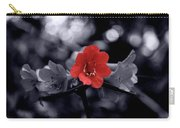 Red Flower Petals Carry-all Pouch