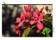 Red Flowering Crabapple Blossoms Carry-all Pouch
