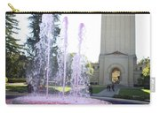 Red Fountain And Hoover Tower Stanford University Carry-all Pouch
