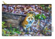 Red Fox At Home Carry-all Pouch