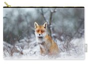 Red Fox Blue World Carry-all Pouch