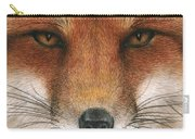 Red Fox Gaze Carry-all Pouch