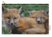 Red Fox Kit Stays Alert Carry-all Pouch