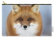 Red Fox Staring At The Camerachurchill Carry-all Pouch