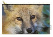Red Fox Vulpes Vulpes, Gros Morne Carry-all Pouch