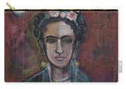 Red Frida 2013 Carry-all Pouch