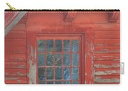 Red Gable Window Carry-all Pouch