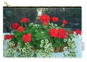 Red Geranium 2 Carry-all Pouch
