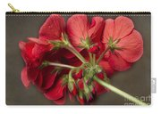 Red Geranium In Progress Carry-all Pouch