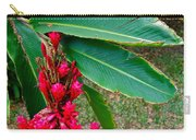Red Ginger Chandelier Carry-all Pouch