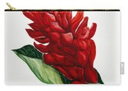 Red Ginger Poem Carry-all Pouch